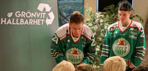 Ängelholms förskolor och Rögle BK gör förskolebarn till miljöhjältar 1