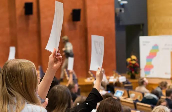 Elevrörelsen samlas i Växjö