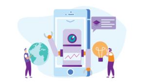 Talsyntes med AI läser upp texten som en verklig människa på språklektionerna 3