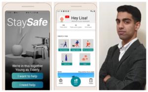 Tvåa i global tävling - nu vill TIS-eleven Shariq hjälpa människor i coronakrisen med sin app 3