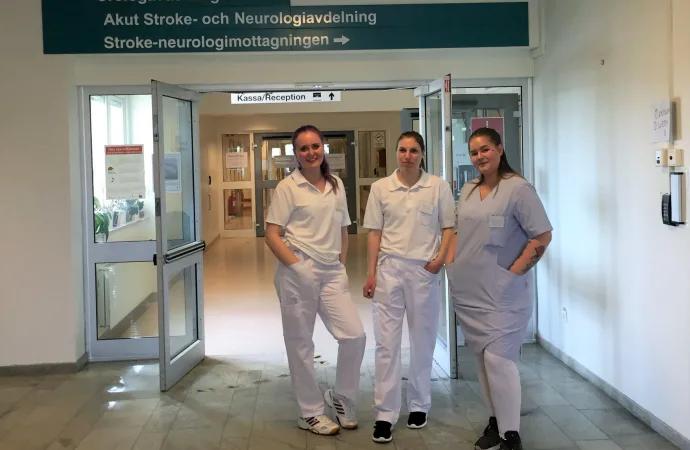 """Coronakris – då hjälper YG-elever till på sjukhuset under en """"bonuspraktik"""""""