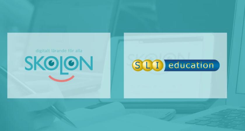 Skolon och SLI Education i samarbete – tusentals utbildingsfilmer, tv- och radioprogram blir tillgängliga i plattformen