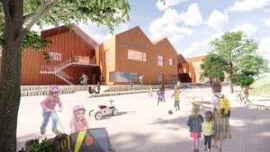 Mörrums nya skola – en pedagogisk, inspirerande och trygg lärmiljö i barnens skala 1