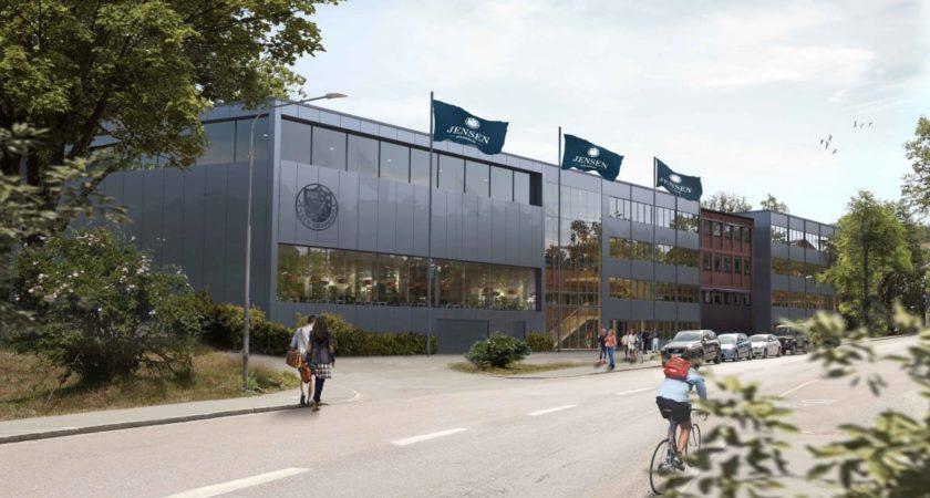 Fastighets AB Stenvalvet (publ) tar första spadtaget för Jensen grundskola i Sickla i Nacka