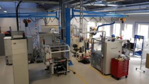 Omställningen till elmotorer förbereds i testlabb 1