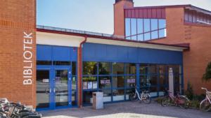 Högskolebiblioteket bygger om inför hösten 1