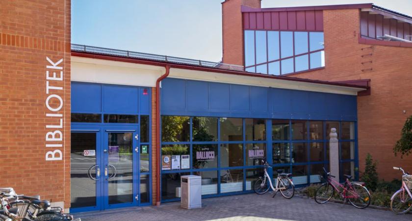 Högskolebiblioteket bygger om inför hösten