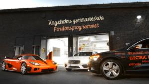 Välkomna till invigning av Fordons- och transportprogrammet på Ängelholms gymnasieskola 1