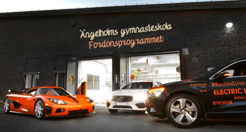 Välkomna till invigning av Fordons- och transportprogrammet på Ängelholms gymnasieskola