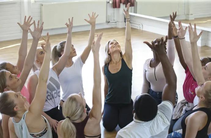 Dansa för att stärka psykisk hälsa