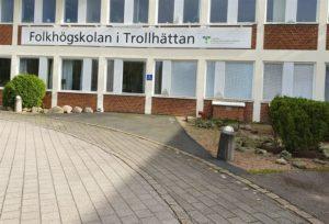 Dalslands folkhögskola i Trollhättan växer – ny undersköterskeutbildning i gamla lasarettet 3