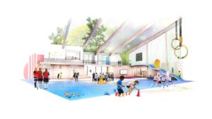 Framtidens idrottshall ska öka rörelseglädjen och minska hälsoklyftorna 1