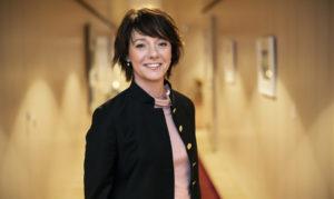 Matilda Ernkrans träffar rektorer om rekryteringsmål för könsfördelning bland professorer 1