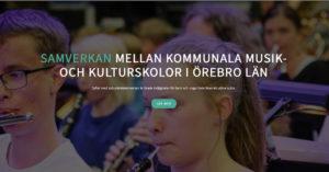 Inbjudan till Örebro läns första musikkollo helt online 1