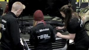 Realgymnasiets startar fordonsprogram i samarbete med ProMeister i Göteborg, ProMeister Fordon med jobbgaranti 1