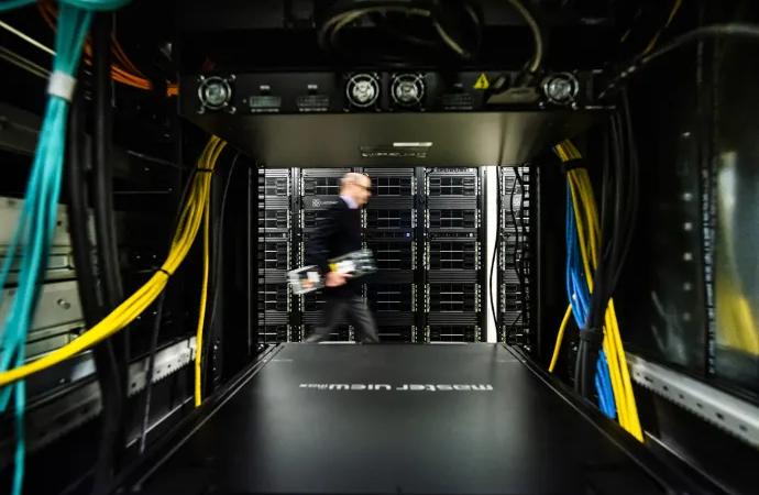 Sveriges största superdator för AI byggs vid Linköpings universitet