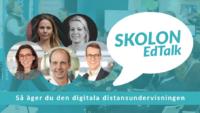 Digitalt event med Skolon EdTalk – så äger du den digitala distansundervisningen