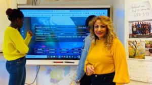 Distansundervisning med god kommunikation mellan elever och lärare – SMART Learning Suite Online 1