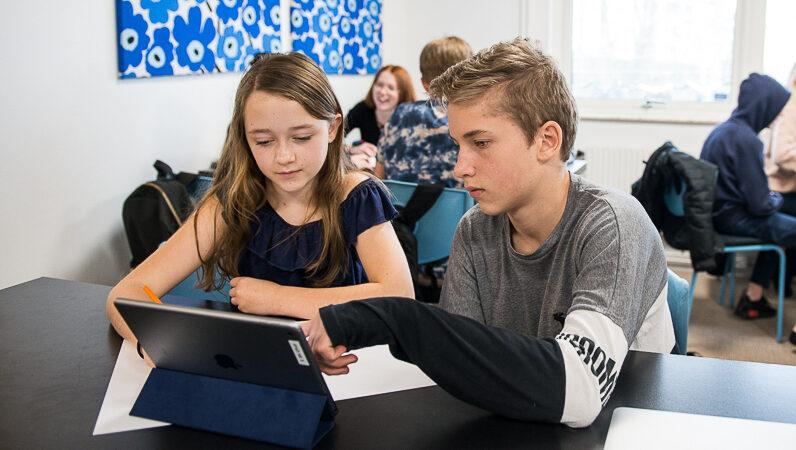 Digitala läromedel öppnar upp en helt ny värld för många elever i skolan