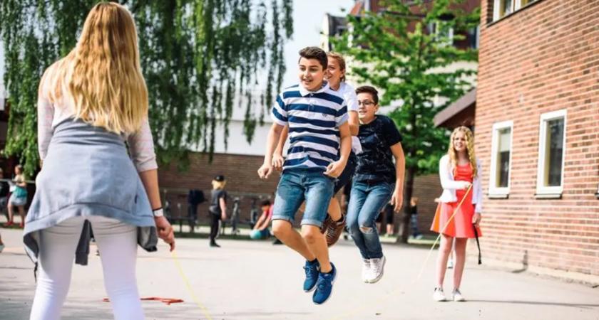 Erlaskolan Östra satsar på elevernas hälsa
