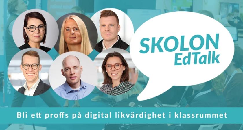 Digitalt event med Skolon EdTalk – bli ett proffs på digital likvärdighet i klassrummet