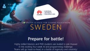 Huawei arrangerar virtuell AI-utmaning 1