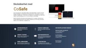 Fullskalig utrullning av CoSafe Skolsäkerhet till skolor i hela Sverige 1