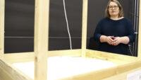 Studenter färdigställde sandlåda – hjälper forskare i nytt program