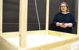 Studenter färdigställde sandlåda – hjälper forskare i nytt program 1