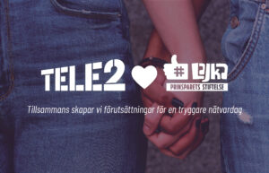 Tele2 och Prinsparets Stiftelse inleder samarbete för tryggare nätvardag för barn – lanserar plattform för föräldrar 1