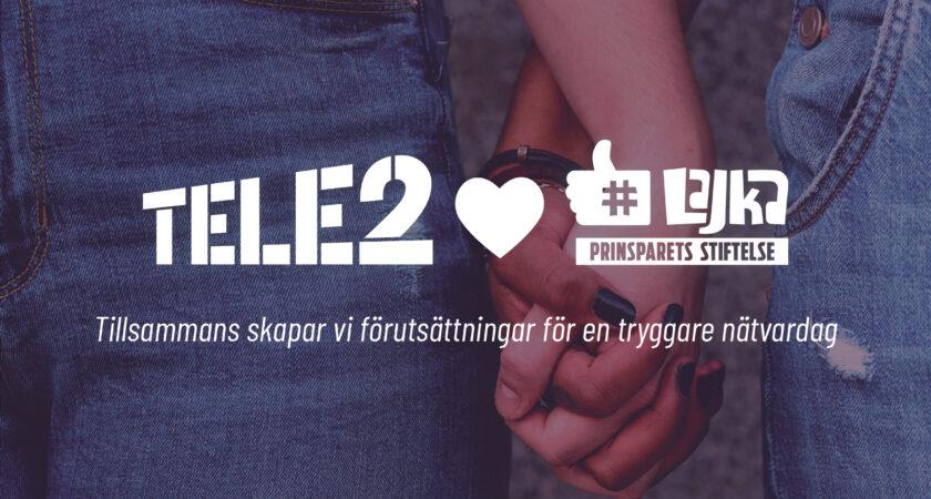 Tele2 och Prinsparets Stiftelse inleder samarbete för tryggare nätvardag för barn – lanserar plattform för föräldrar