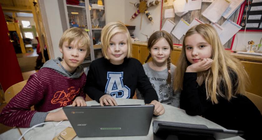 Skolan viktigaste informationskällan om coronapandemin för barn i Sverige