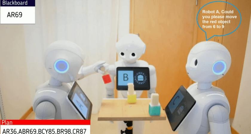 Robotar i grupp som går att lita på och förstå