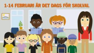 Premiär för digitalt skolval i grundskolan