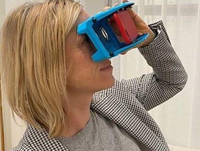 VR-glasögon och öppet digitalt hus