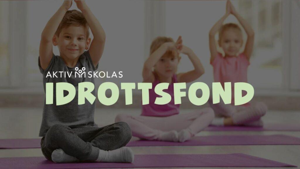 Aktiv Skola instiftar ny idrottsfond