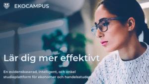 Ekocampus hjälper Sveriges ekonomistudenter att effektivisera sin studiegång