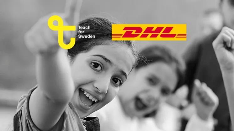 Teach for Sweden och DHL inleder samarbete för en bättre skola