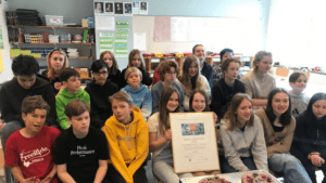 Nytt pris till skolklasser som skildrat pandemilivet för framtiden