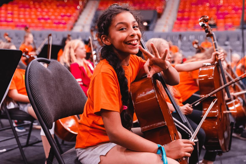 Ett av världens största kör- och orkesterläger hålls med hjälp av Microsoft Teams