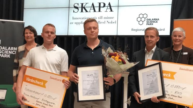 Årets SKAPA-innovatörer i Dalarna